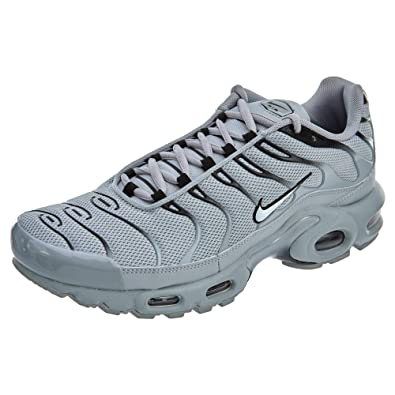 Nike Herren Air Max Plus Leder/Synthetik Sneaker Grau 45: Amazon.de ...