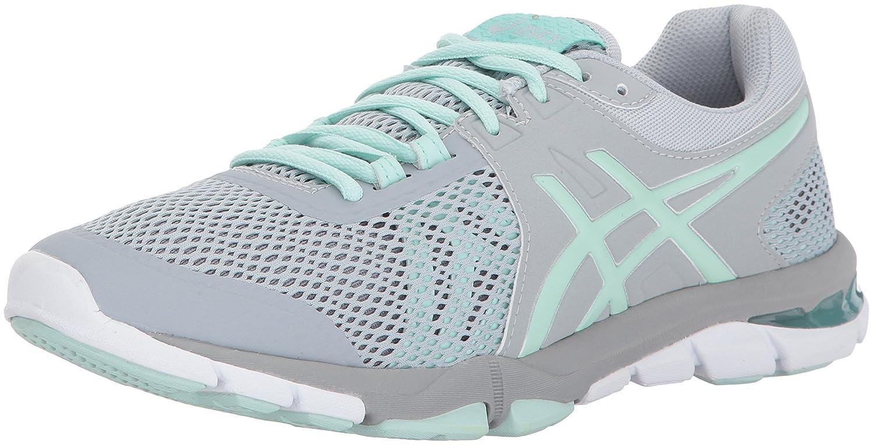 ASICS Women's Gel-Craze TR 4 Cross-Trainer Shoe B01N03BEA1 10 B(M) US|Mid Grey/Glacier Sea/Silver