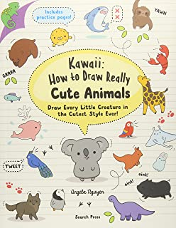 How To Draw A Unicorn And Other Cute Animals With Simple Shapes And