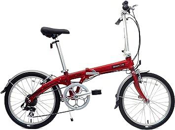 Dahon Eco C7 - Bicicleta Plegable, ladrillo: Amazon.es: Deportes y ...