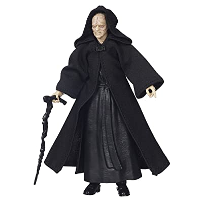 Star Wars The Black Series Emperor Palpatine 6 Inch Figure: Toys & Games