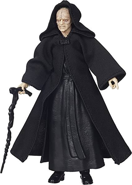 2x Hasbro Star Wars Action Figure Toys Darth Sidious Emperor Palpatine