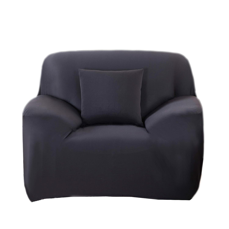 MeOkey Funda para Sofá Cubierta de Sofá Poliéster Elástico para Sofa de 1 Plaza (95-140 CM)