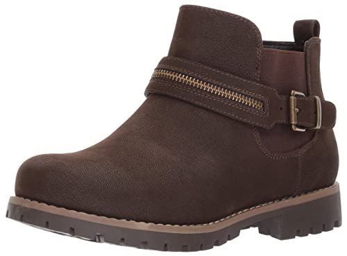postre Productivo Sabroso  Buy Skechers Women's Cypress-Cedar Ankle Bootie, Chocolate, 5 M US at  Amazon.in