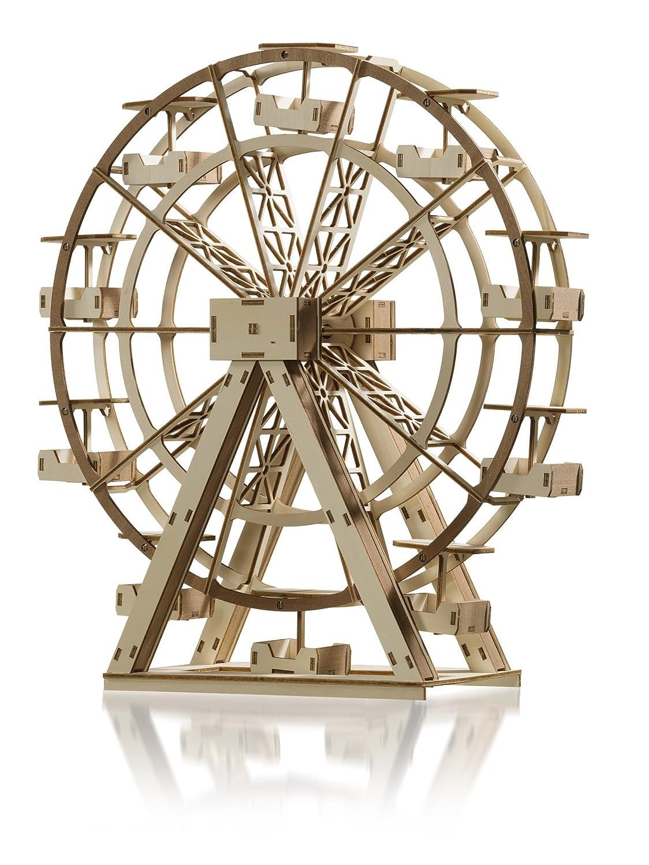 Maquette en bois bicolore, Grande roue