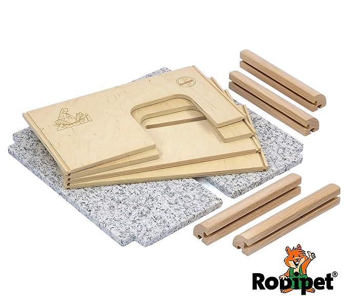 zoodi® + Granito Degu Casa: Amazon.es: Productos para mascotas