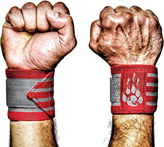 product image for MANIMAL Wrist Wraps - Superior Support, Stabilization and Style - Get 3 Years of Daily Use - Lifting Straps and Guards for Men and Women - Weightlifting, Crossfit, Powerlifting, Strength Training, Gym