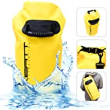 Dry Bag Set – Fully Waterproof 20L To Protect All Items – Lightweight and Tough PVC Tarp – Easy To Use Highly Visible Storage Sack – Perfect Pouch For Camping And All Outdoor Activities