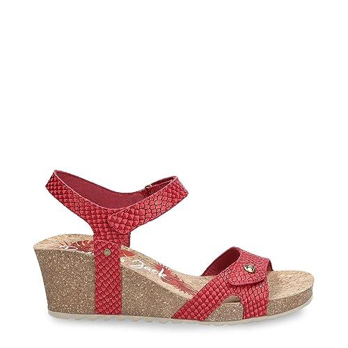 22f44fadefa Panama Jack Julia Snake, Sandalia con Pulsera para Mujer: Amazon.es:  Zapatos y complementos