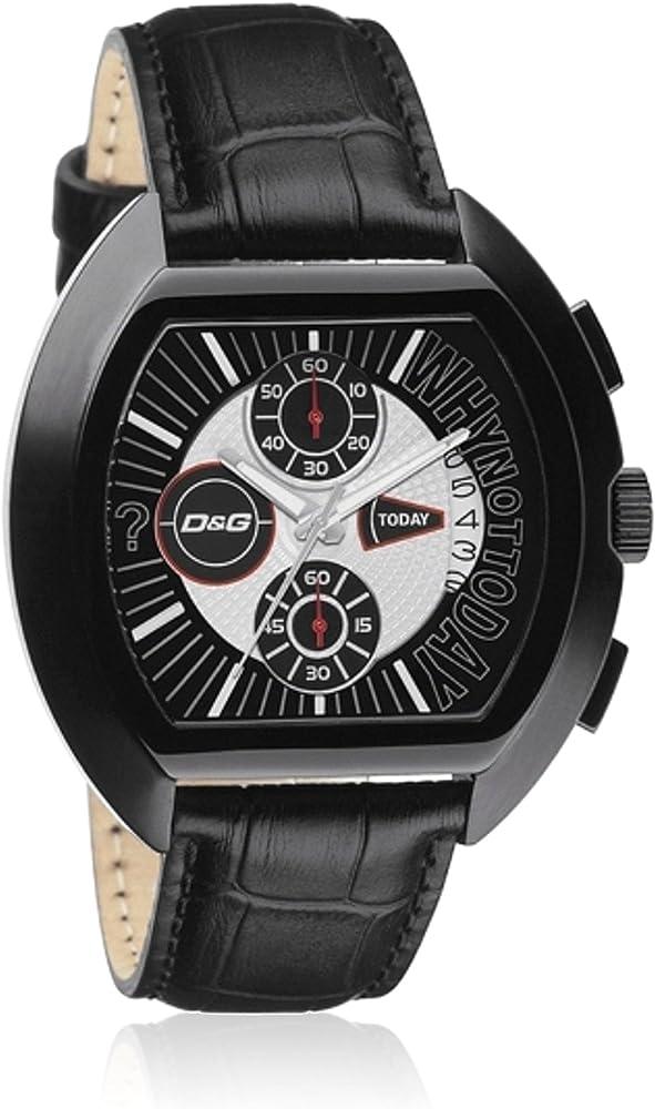 3ba759283 D&G Time Reloj analogico para Hombre de Cuarzo con Correa en Piel DW-0214