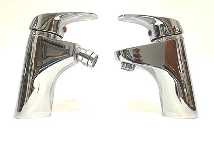 Rubinetto miscelatore monocomando bidet lavabo lavandino serie