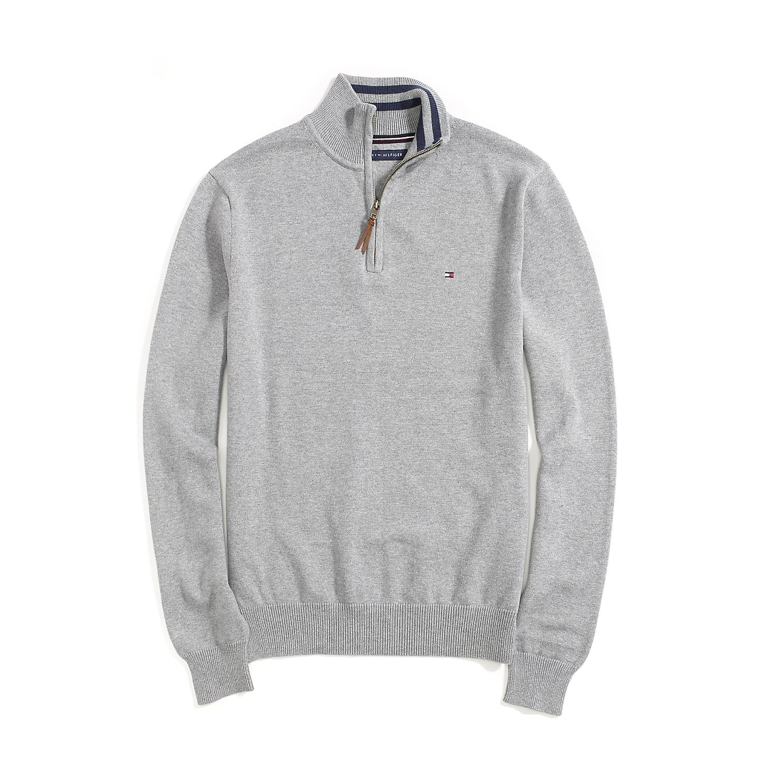 Tommy Hilfiger Mens 1//2 Zip Knitted Sweater