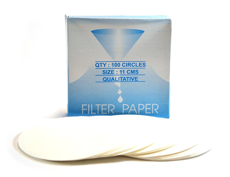 Whatman 10311812 Quantitative Filter Paper Circles 150mm Diameter Grade 597 4-7 Micron Pack of 100