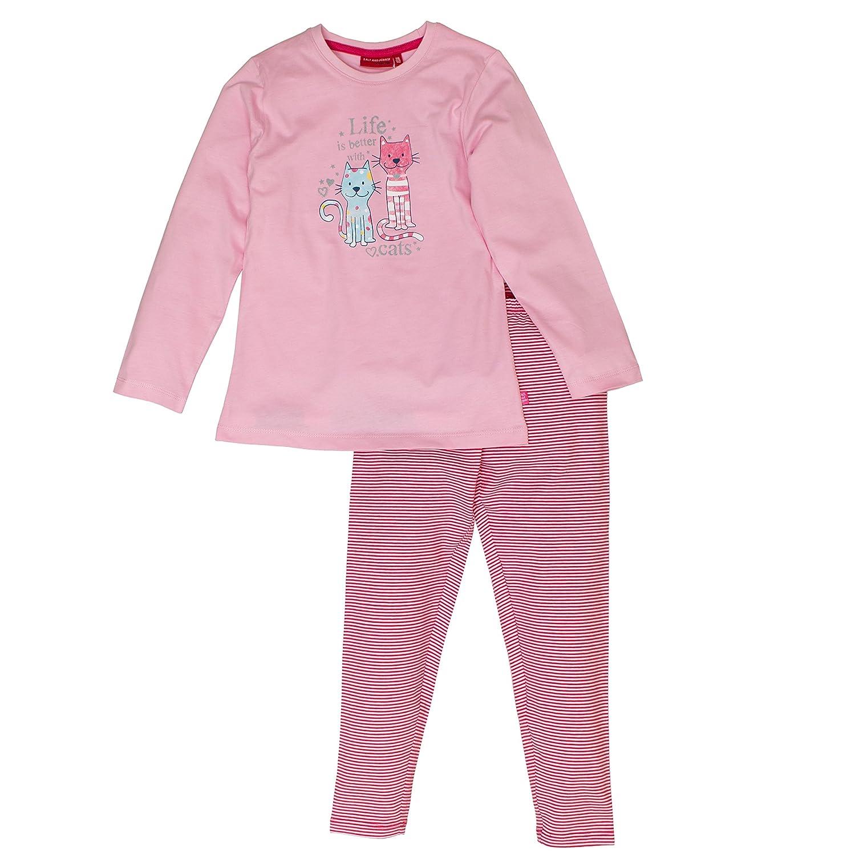 SALT AND PEPPER Mädchen Zweiteiliger Schlafanzug Pyjama Katze 75123294