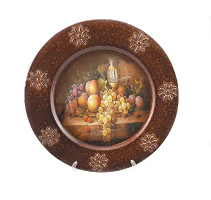 Amazon Com Decorative Serving Charger And Stand Platter