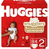 Huggies Little Snugglers Baby Diapers, Size Newborn, 84 Ct