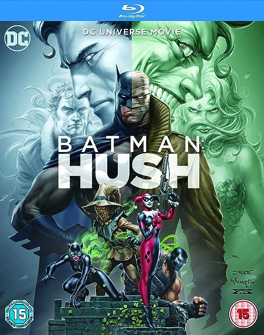 Amazon.com: Batman: Hush [Blu-ray] [2019]: Jason OMara ...