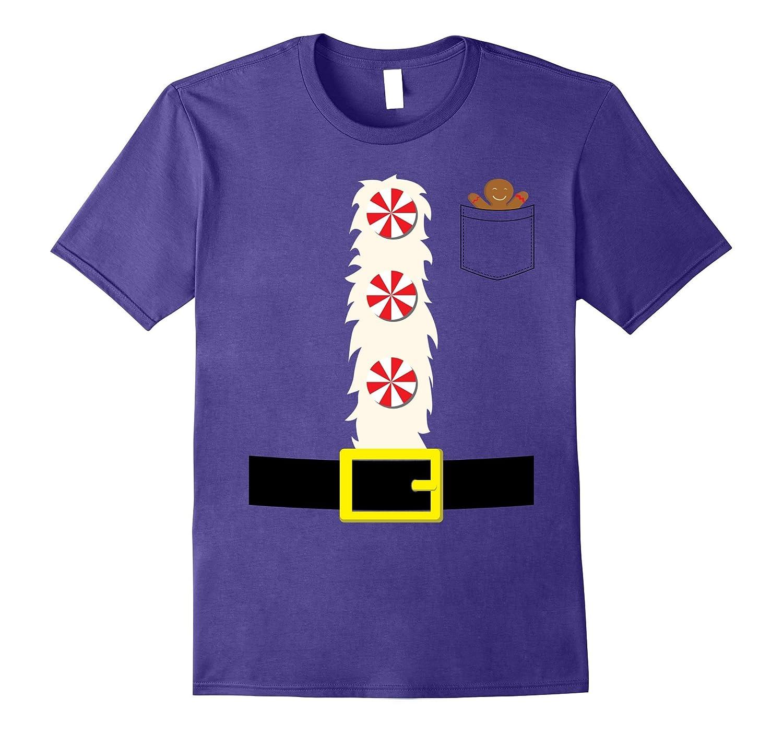 Christmas Holiday Dwarf: Dwarf Gingerbread Costume T-Shirt-FL