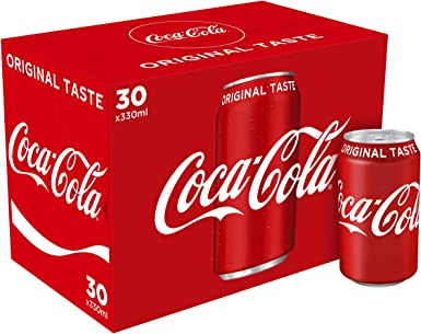 Coca Cola 330 ml - Especial pack caja de 30 unidades: Amazon.es: Alimentación y bebidas