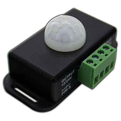 LED IR Detector de movimiento 12 V DC Sensor de movimiento PIR sensor de movimiento para