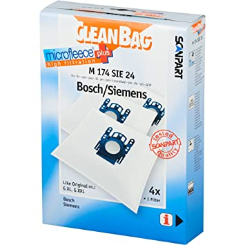Amazon.com: CleanBag M 174 SIE 24 - Bolsas de repuesto para ...