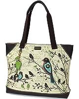 Chala Safari - Tote Bag , Canvas Tote - Detachable Charm / Keychain
