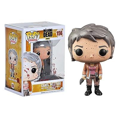 The Walking Dead Bloody Carol Peletier Funko Pop: Toys & Games