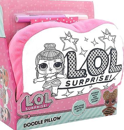 Lol Surprise Mini Cojín A Colorear Munecas Lol Actividad Creativa Para Niñas Almohada Para Niña
