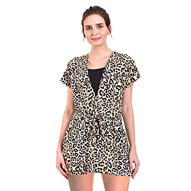 172024f79c Rock Daniel Womens Nightwear Nighty of Free Size Nighty for Ladies (Wild Cat