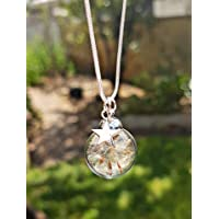 Christmas Gift Necklace Dandelion Star Charm Necklace Pendant with Sterling Silver Chain with GIFT BOX Personalized Gift Birthday Gift Jewelry for women and girls