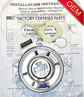 Amazon.com: 285785 WASHER CLUTCH KIT FOR WHIRLPOOL KENMORE ... on
