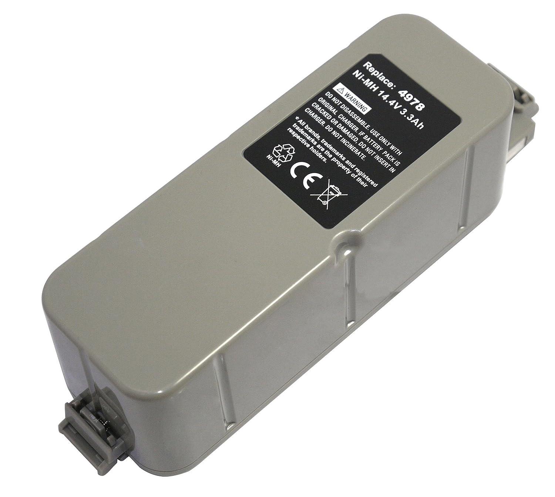 PowerSmart 14,40 V NiMH 3300 mAh batería para iRobot Roomba inteligente Robotic M-288, m288 a, M-288B: Amazon.es: Hogar