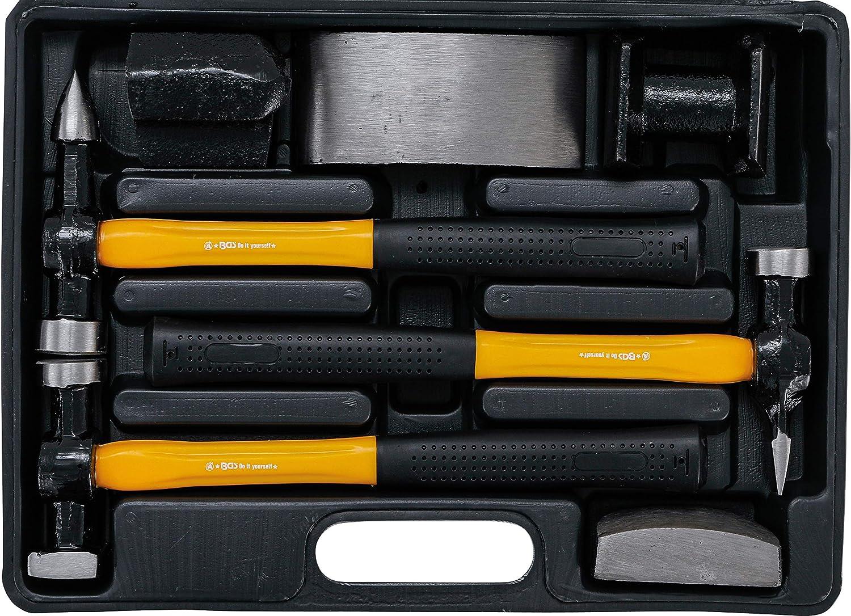 Kraftmann 1670   Juego de tases y martillos   7 piezas