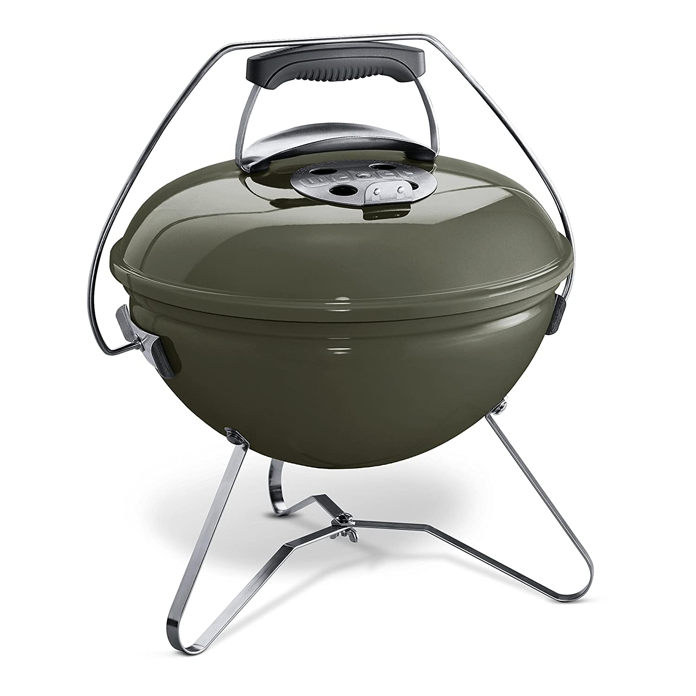 Weber Smokey Joe Premium Smoke Grill, grau, 37 x 42 x 43 cm, 1126704