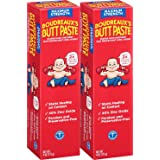 Boudreaux's Butt Paste Diaper Rash Ointment - Maximum Strength - Contains 40% Zinc Oxide - Paraben and Preservative-Free - 4o