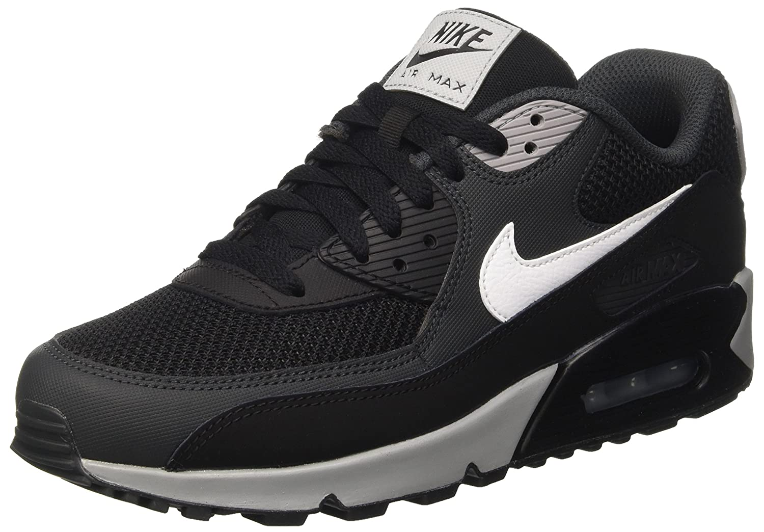 Nike Herren Hose Modern Fit Washed  42 EU|Schwarz (Black/White-anthracite-wolf Grey)