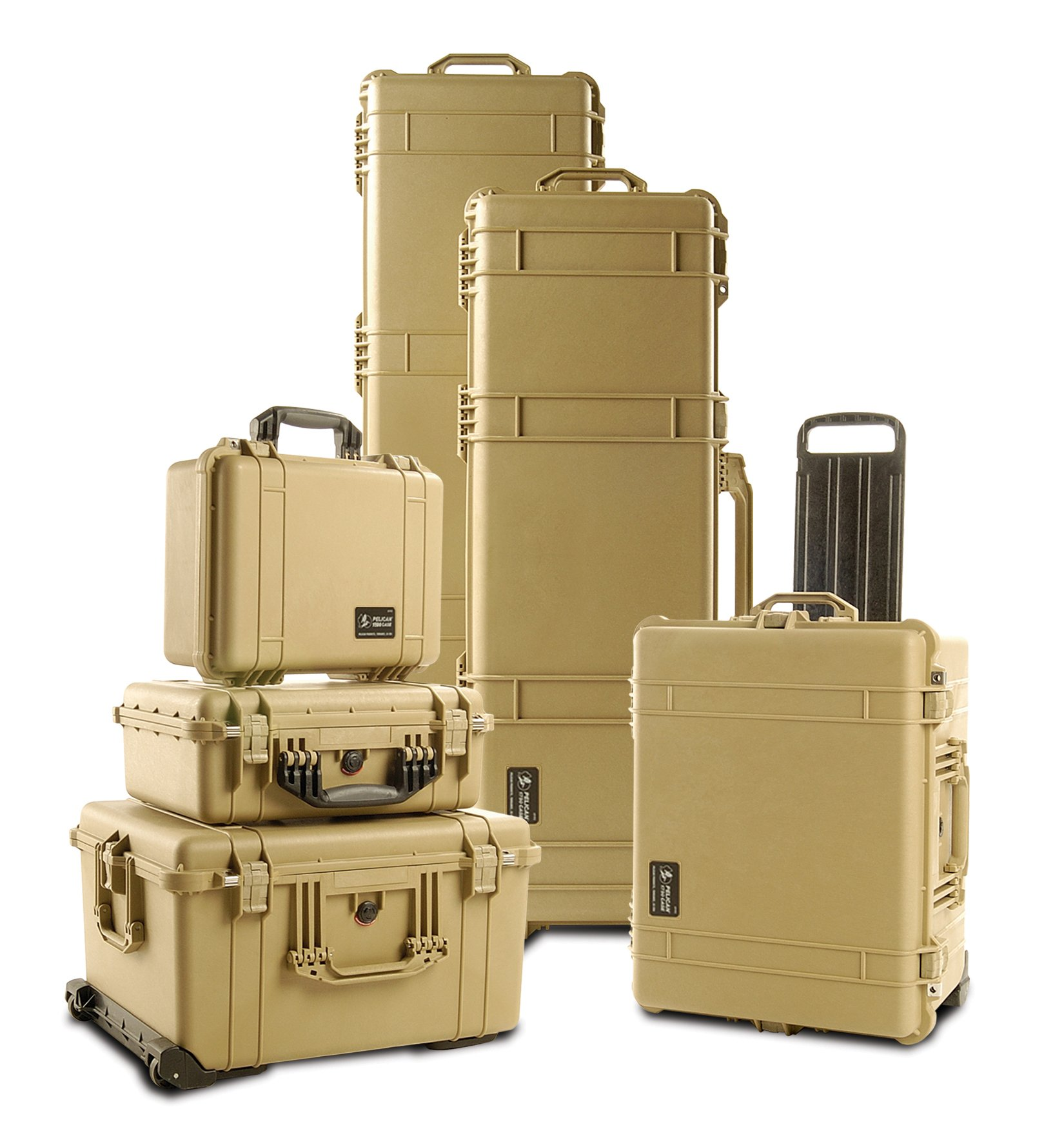 Pelican 1750 Rifle Case With Foam (Desert Tan) by Pelican (Image #3)