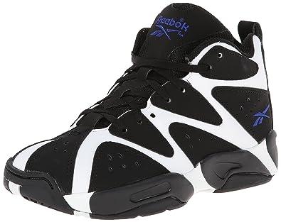 8dd1a7b3ca2df3 Reebok Kamikaze I Mid Basketball Sneaker (Little Kid)