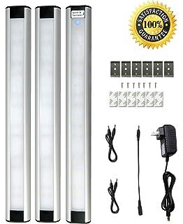 under cabinet lighting jebsens jb03 led kitchen lighting kit with touch switch 3 pcs cabinet lighting flip book