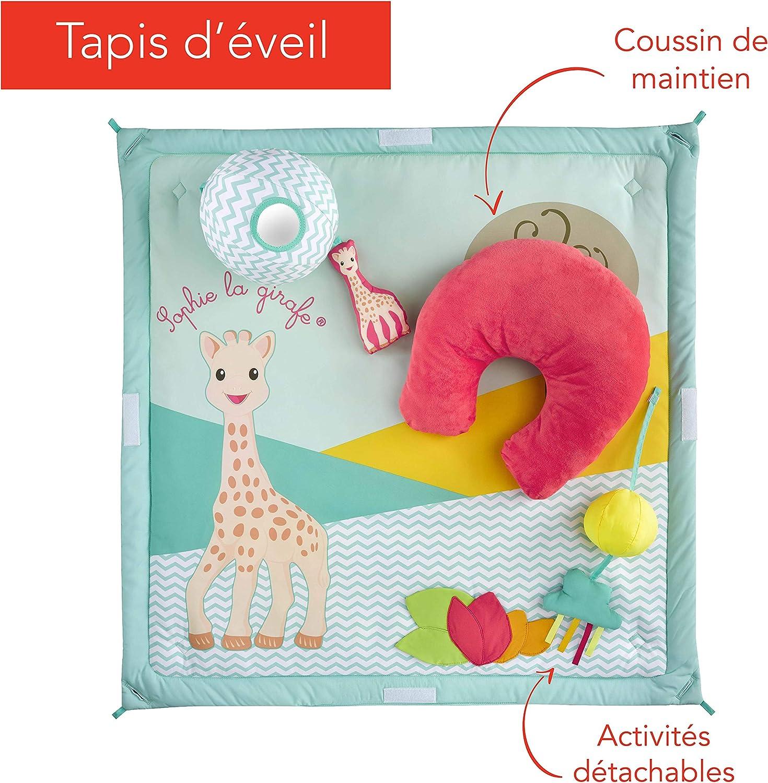 Sophie la girafe tipi b/éb/é avec tapis d/'/éveil /évolutif