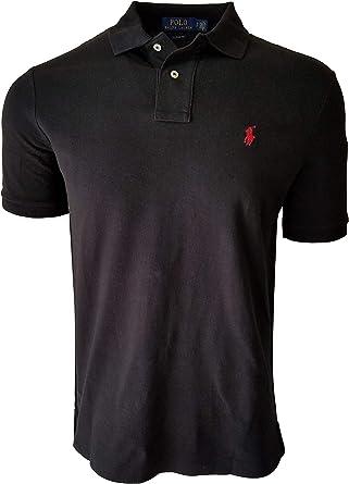 Polo Ralph Lauren Mens Custom Slim Fit Mesh Polo Shirt (X-Large ...