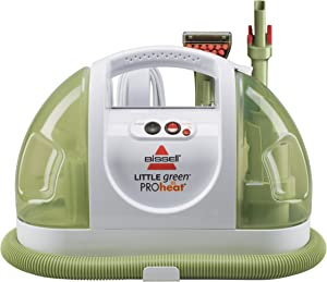 BISSELL Little Green ProHeat Portable Carpet and Upholstery Cleaner, 14259,White
