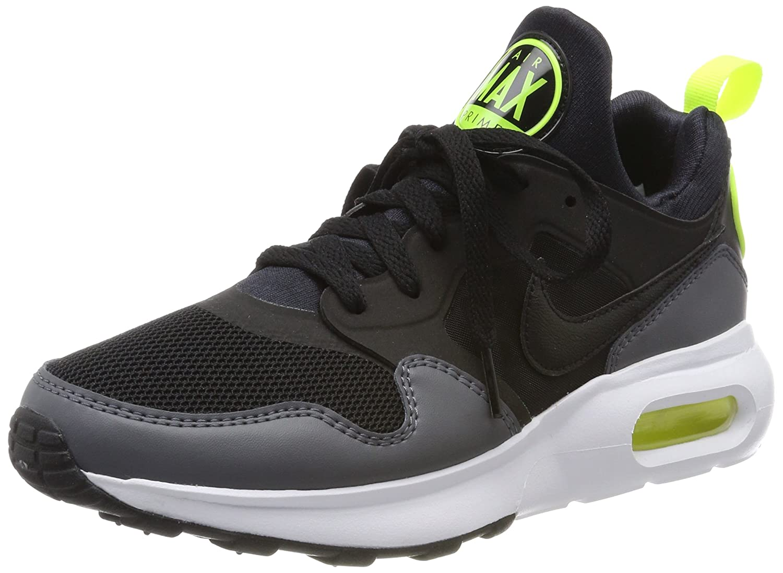 Nike Herren Air Max Prime Gymnastikschuhe  42.5 EU|Schwarz (Black/Black-dark Grey-vert Volt)