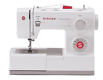Singer HD 5511 Eléctrico - Máquina de coser (Blanco, Costura, Paso 4,