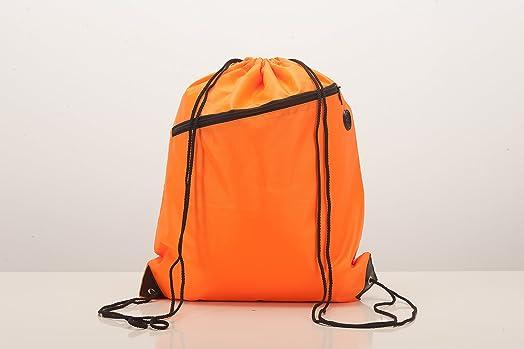 Drawstring Bag School Book Sport Gym Swim PE Backpack Rucksack Red Brand