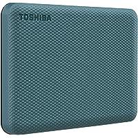 HD Externo Portátil Toshiba 1TB Canvio Advance USB 3.0 Verde - HDTCA10XG3AA