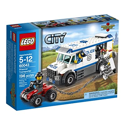 LEGO City Police 60043 Prisoner Transporter (Discontinued by manufacturer): Toys & Games