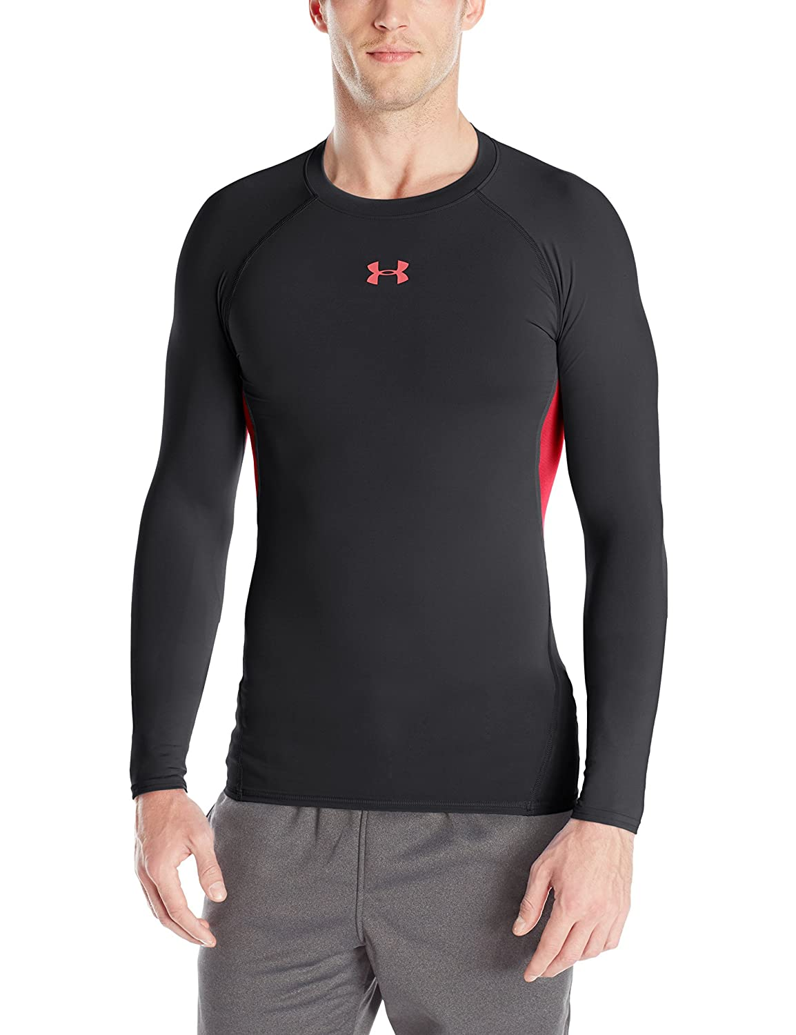 Under Armour Men's HeatGear Armour Long Sleeve Compression Shirt 1257471-0902XL