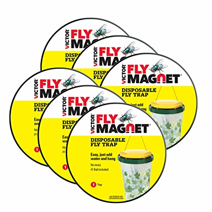 Victor Poison-Free M530 Fly Magnet Disposable Fly Trap