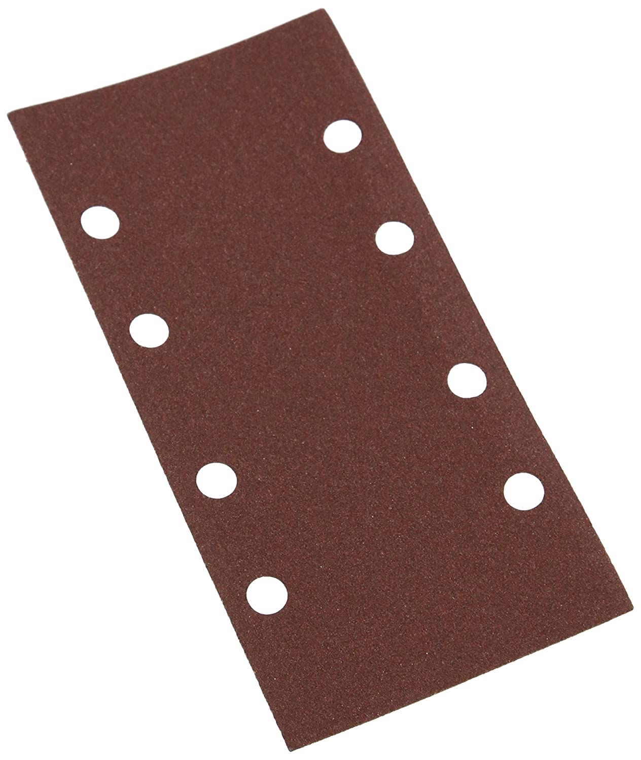 120 Grit Silverline 868737 Hook and Loop 1//3 Sheets Punched Pack of 10